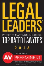 AV Preeminent - Legal Leaders - 2018