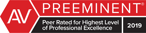 AV Preeminent. Peer Rated for Highest Level of Professional Excellence.