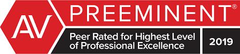 AV Preeminent. Peer Rated for Highest Level of Professional Excellence.