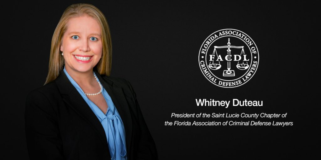 Whitney Duteau FACDL